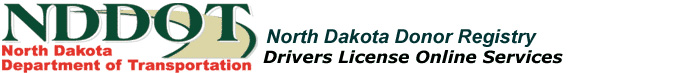 Drivers License Donor Registry
